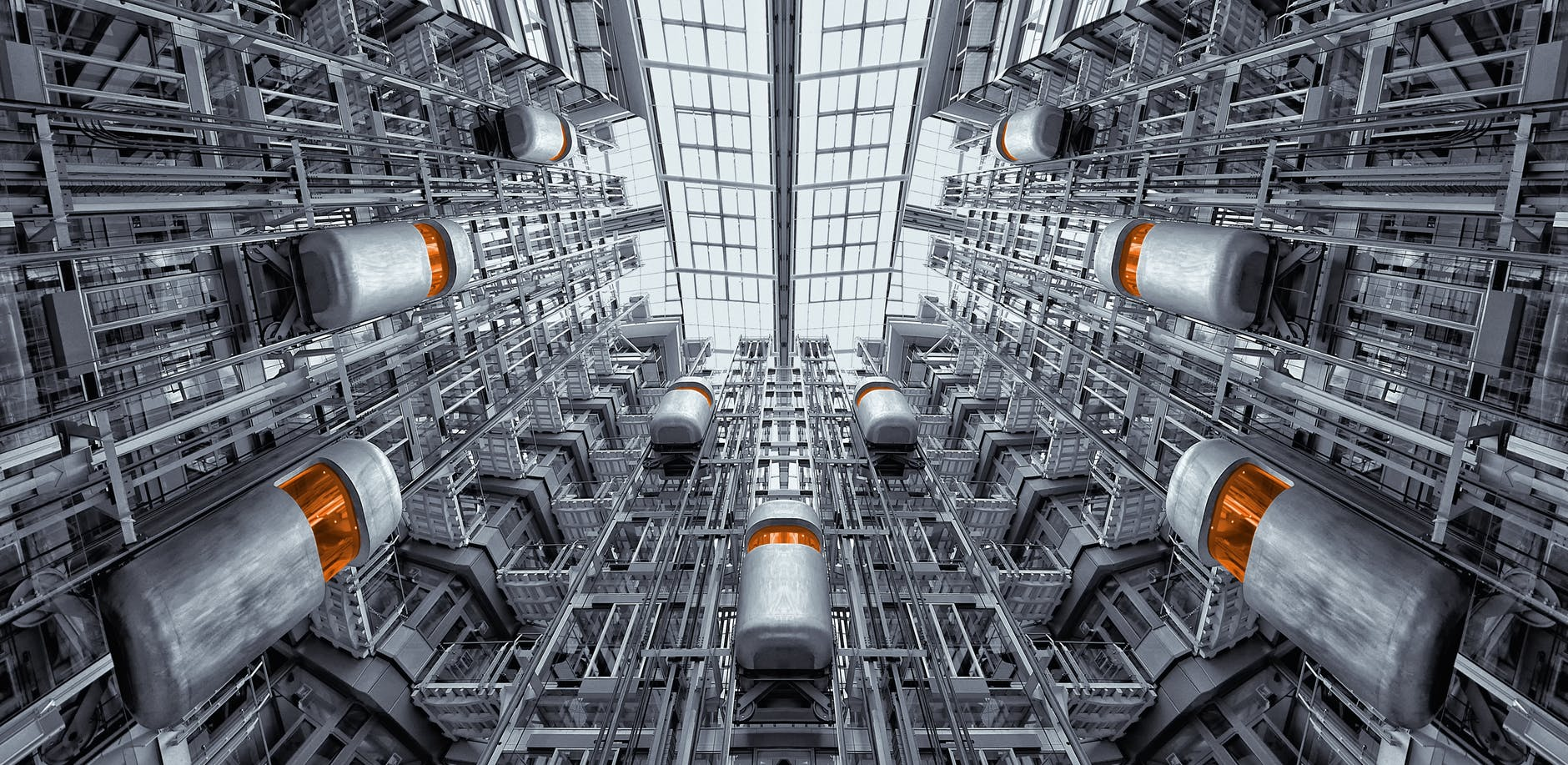 landscape photography of factory during daytime
